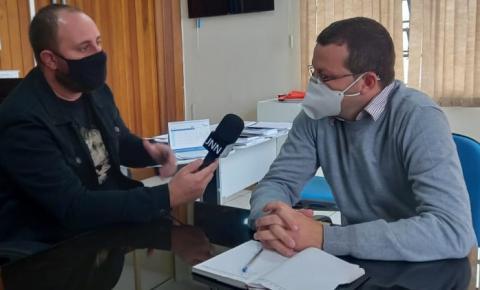 VÍDEO - Secretário de saúde comenta sobre vacinação em Jacarezinho