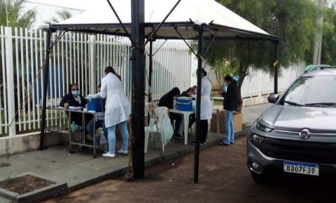Jacarezinho vacina 452 pessoas de 58 e 59 anos sem comorbidades