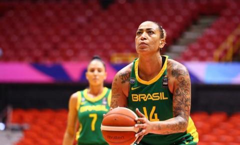 Brasil erra bastante e perde na Copa América de Basquete feminino