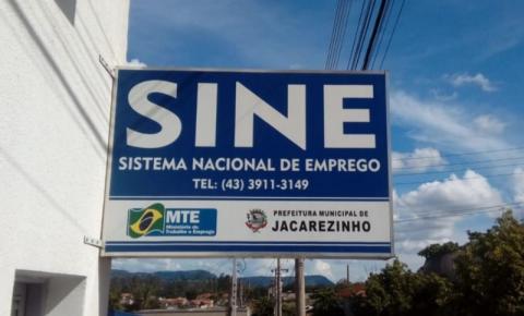 Agência do Trabalhador de Jacarezinho intermediou 63 vagas de emprego em maio