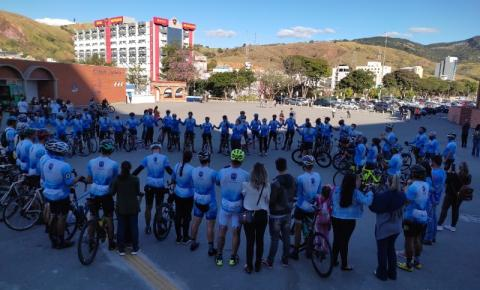 Ciclistas de Maria completa mais um ano de peregrinação de bicicleta de Jacarezinho até Aparecida