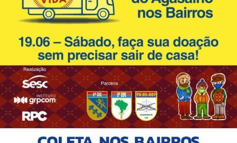Campanha do agasalho terá coleta domiciliar neste sábado em Jacarezinho