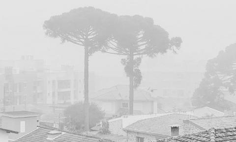 Simepar prevê inverno gelado e seco, com muito nevoeiro e alguns veranicos