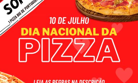 Romana comemora dia nacional da pizza com sorteio no instagram