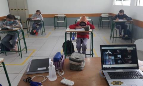 Atenção Pais e Estudantes! As aulas presenciais na rede estadual de ensino em todo o Paraná já começaram