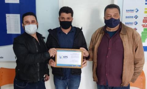 Marcelo Nascimento parabeniza Tomazina pela conquista do Selo Atenção Primária de Qualidade do Ministério da Saúde