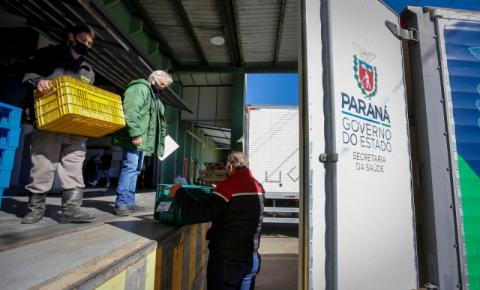 Estado distribui mais 50,3 mil primeiras doses contra a Covid-19 aos municípios