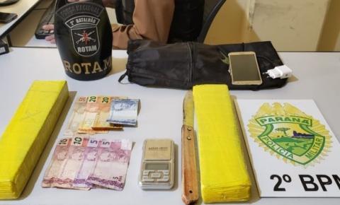 PM realiza prisões e apreensões de drogas em Jacarezinho