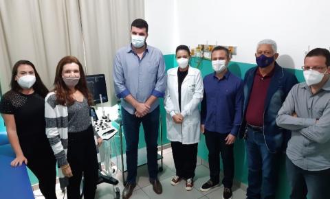 VÍDEO: Marques dos Reis recebe novo aparelho de ultrassom
