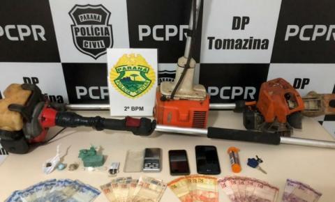 Operação envolvendo policiais de Ibaiti, Tomazina, Japira e Pinhalão prende fugitivos na Lavrinha
