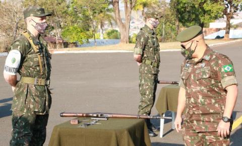 Tiro de Guerra 05-007 recebe Visita de Inspeção da 5ª Região Militar