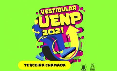 UENP divulga terceira chamada do Vestibular 2021