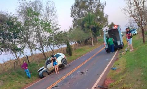 Mulher de 26 anos morre em acidente na PR-151
