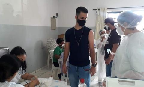 Mais de 26 mil pessoas já receberam pelo menos uma dose contra Covid-19 em Jacarezinho