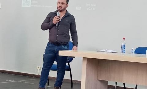 Marcelo Nascimento participa de conferência municipal de saúde de Jacarezinho