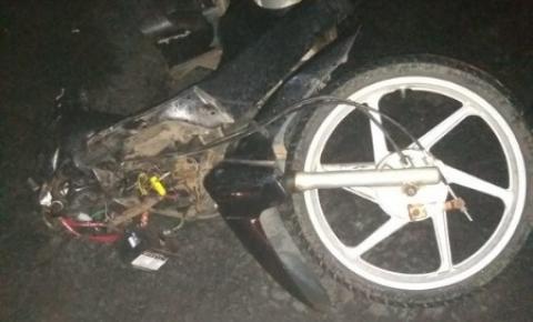 Jovem de Quatiguá morre em acidente com moto na PR-092