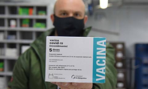 Paraná receberá mais 182,1 mil doses de vacinas contra a Covid-19 nesta segunda-feira