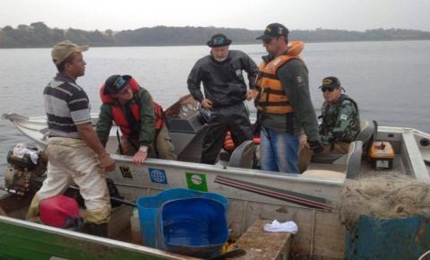 Força-tarefa do IAT identifica desmatamento e pesca ilegal no Norte Pioneiro